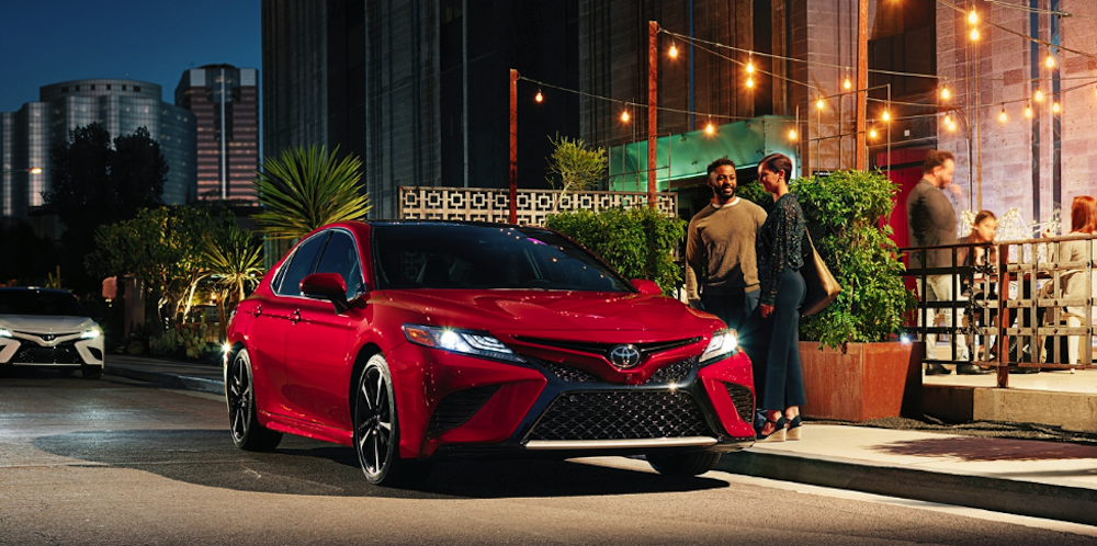 2020 Toyota Camry in city