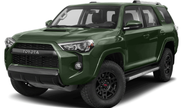 2020 Toyota 4Runner front view comparison thumbnail