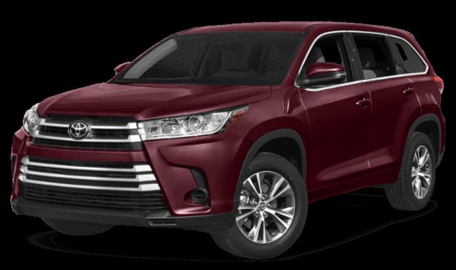 2020 Toyota Highlander front view comparison thumbnail