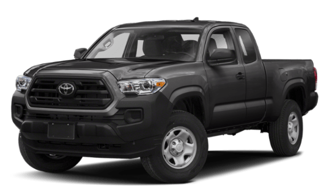 2020 Toyota Tacoma front view comparison thumbnail