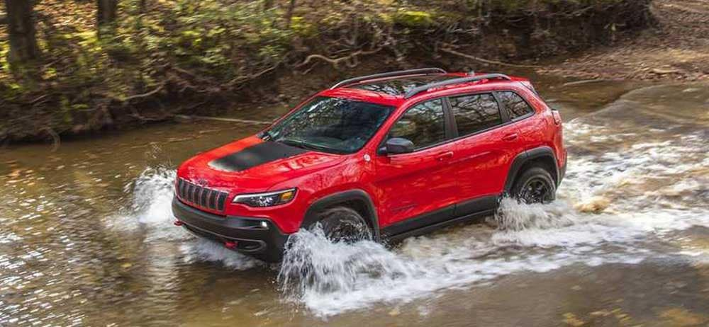 2019 Jeep Cherokee Trailhawk Firecracker Red