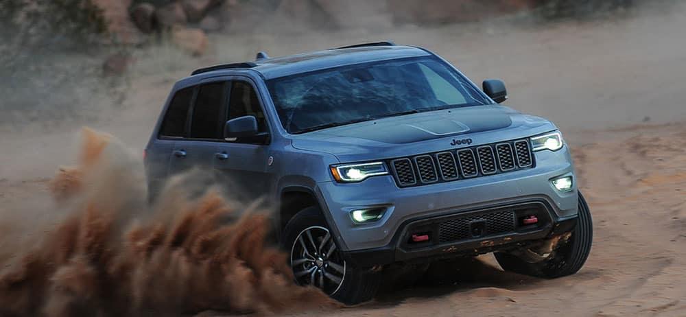 2019 Jeep Grand Cherokee Slate Blue Pearlcoat exterior
