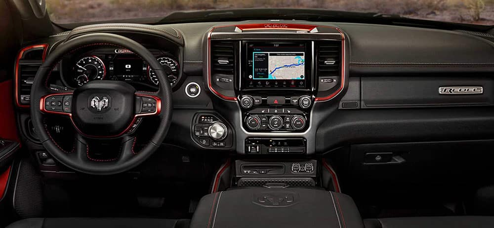 2019 Ram 1500 Rebel interior technology