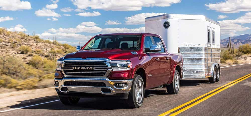 2019 Ram 1500 hauling and trailering capability