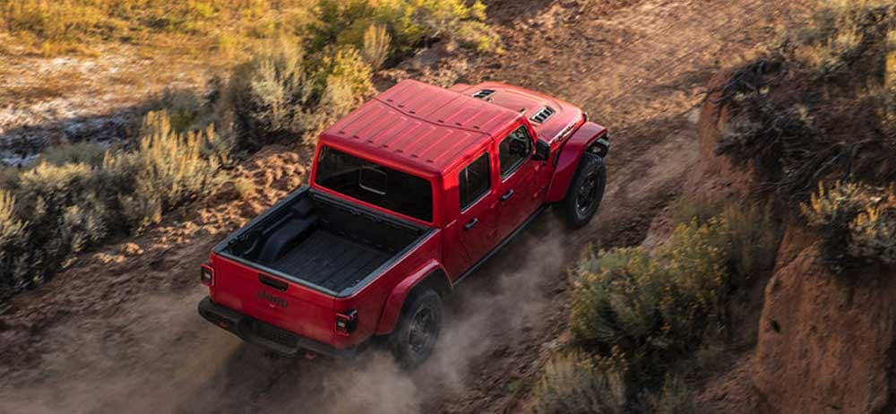 2020 Jeep Gladiator Firecracker Red Clearcoat off-road adventure