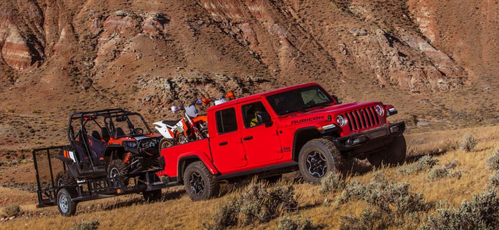 2020 Jeep Gladiator off road capability
