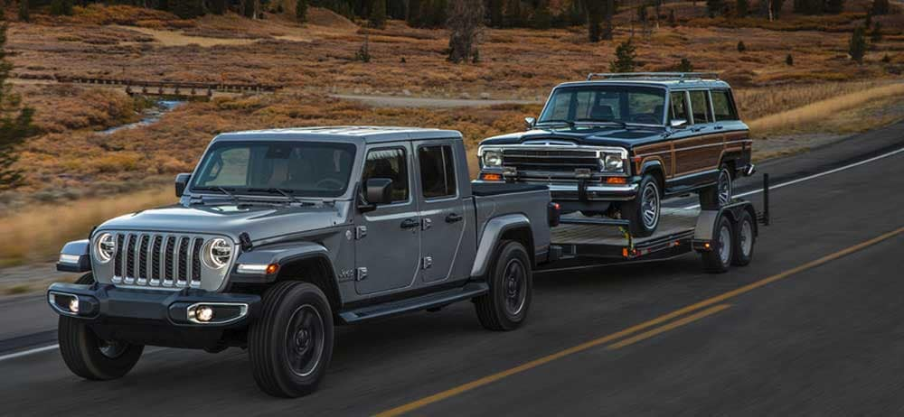 2020 Jeep Gladiator trailering capability