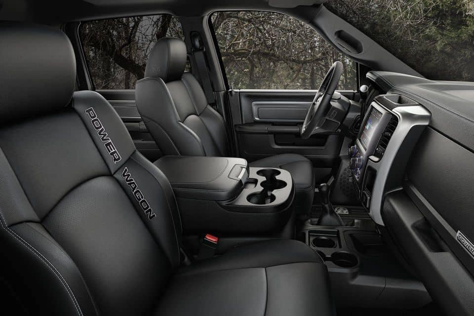 2018 Ram 2500 CA Interior