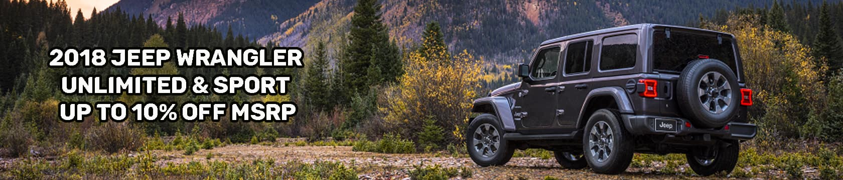 2018 Jeep Wrangler Banner 1