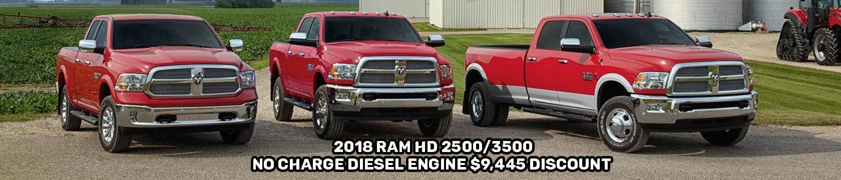 2018 Ram 2500 & 3500 Banner 1