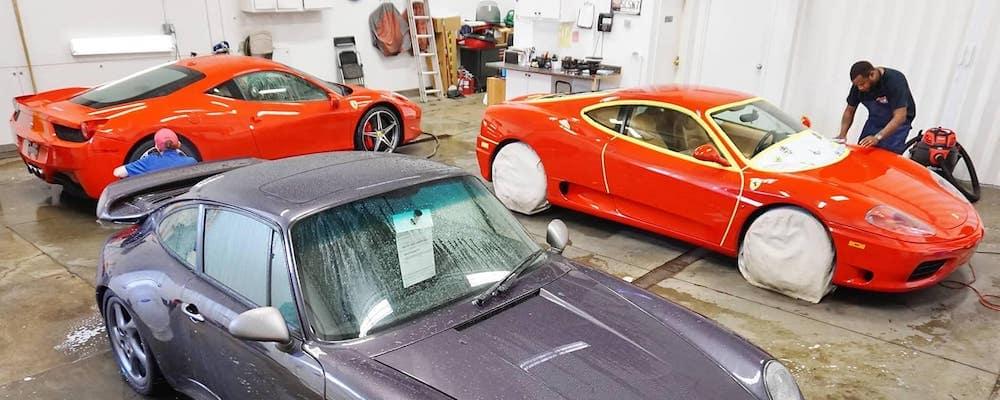 car detailing storage