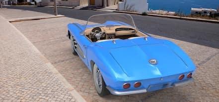 1958 c1 corvette