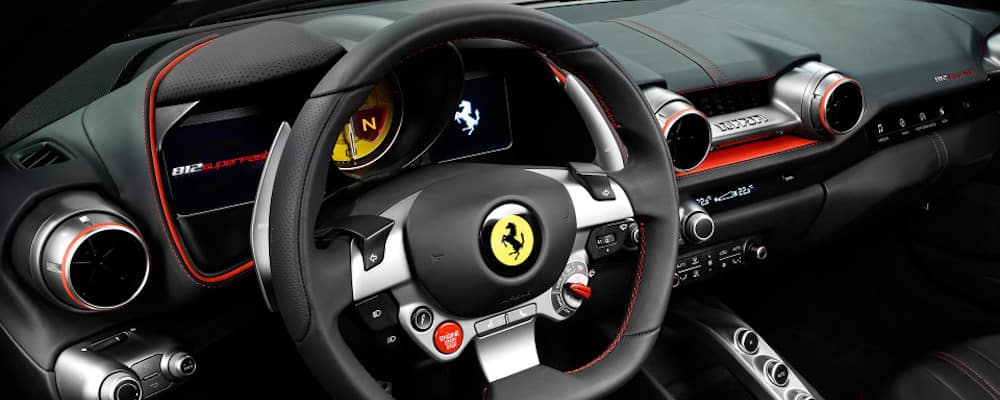812 superfast steering wheel and paddle shifters