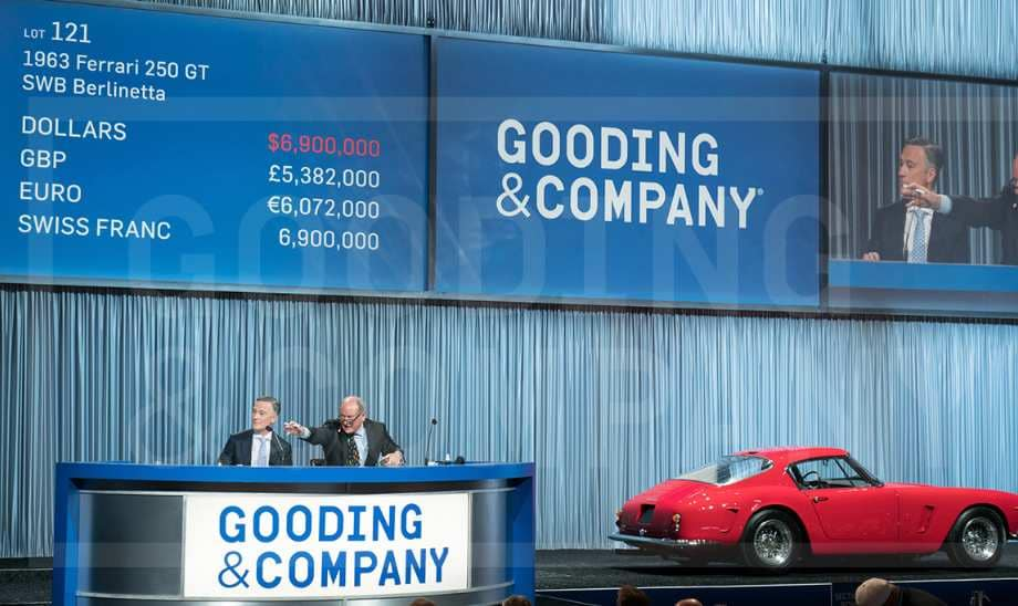Gooding and CO 1963 Ferrari 250 GT