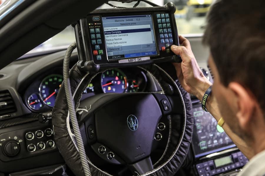 Maserati Diagnosis and Repair
