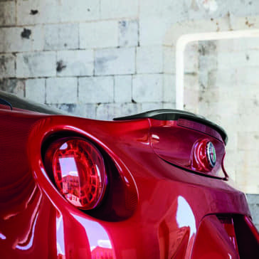 2018 Alfa Romeo 4C taillight