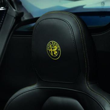 2018 Alfa Romeo 4C leather seat