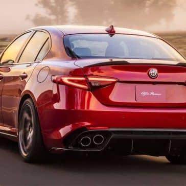 2018 Alfa Romeo Giulia Quadrifoglio rear