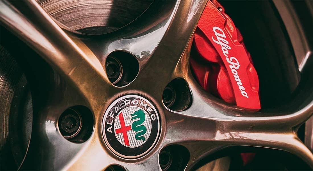 2018 Alfa Romeo Giulia TI brake detail