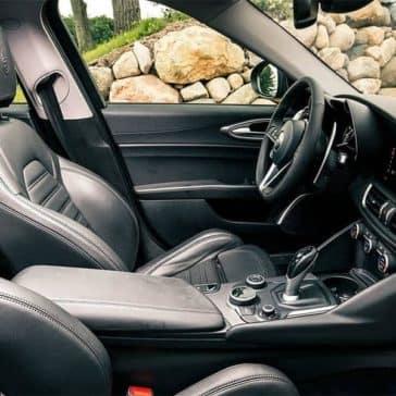 2018 Alfa Romeo Giulia TI interior