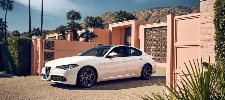 White 2019 Alfa Romeo Giulia