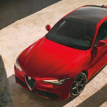 2019 Alfa Romeo Giulia Top View