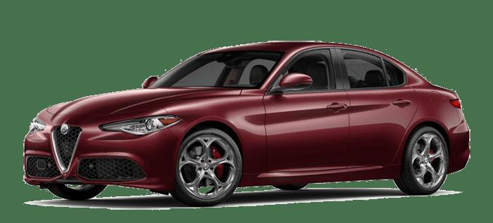 2019 Alfa Romeo Giulia Red