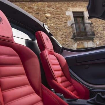 2019 Alfa Romeo 4C Spider Seating