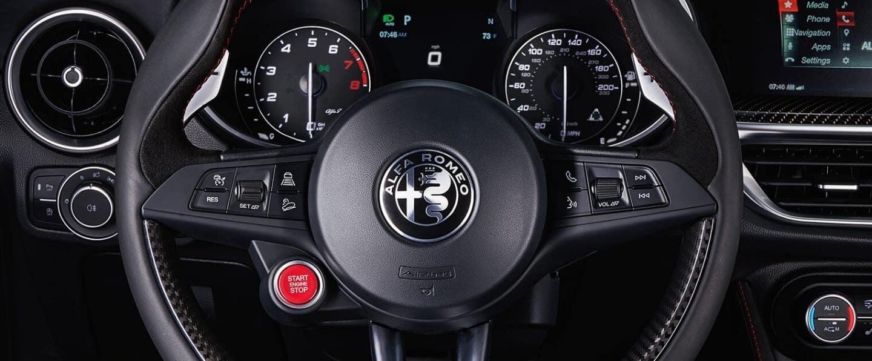 2019 Alfa Romeo Stelvio Quadrifoglio Steering Wheel