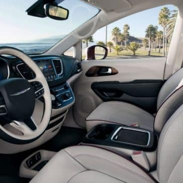 2018 Chrysler Pacifica dashboard