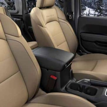 2018 Jeep Wrangler seating