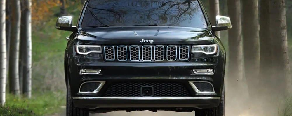 Front view of the Jeep Grand Cherokee