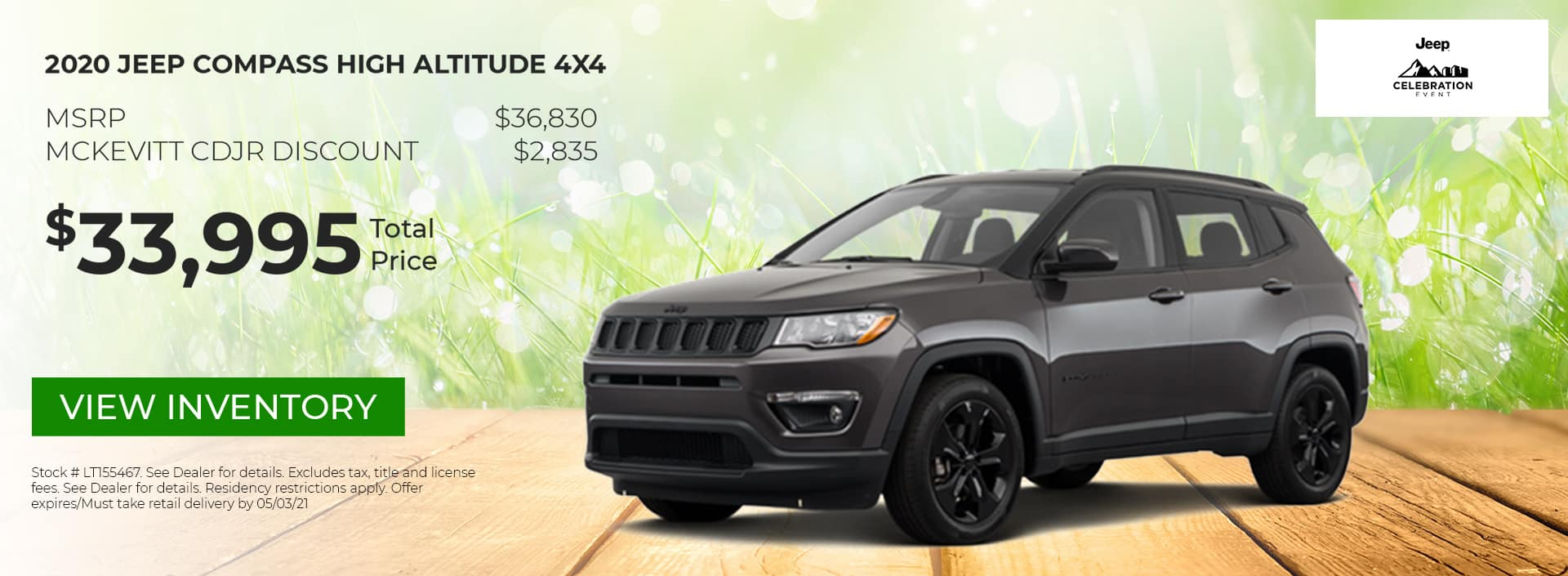 Jeep Compass Altitude HP