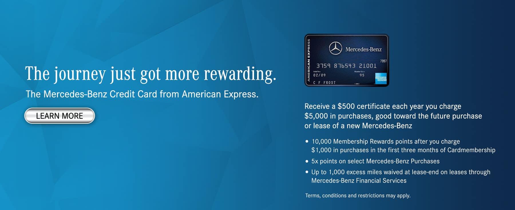 Superior Mercedes Benz Credit Card. Contact Us