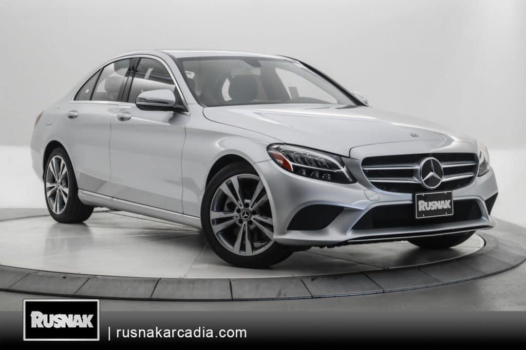 New 2020 Mercedes-Benz C 300 RWD SEDAN
