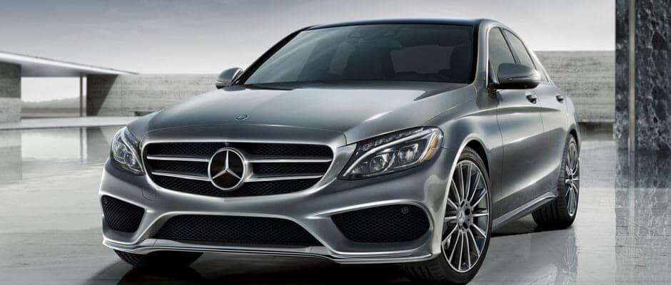 2018 Mercedes Benz C Class Sedan Front Exterior