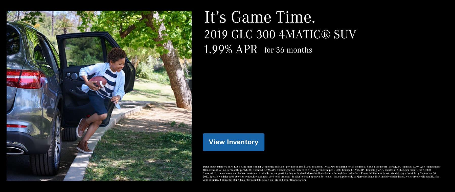 1.99% APR GLC 300