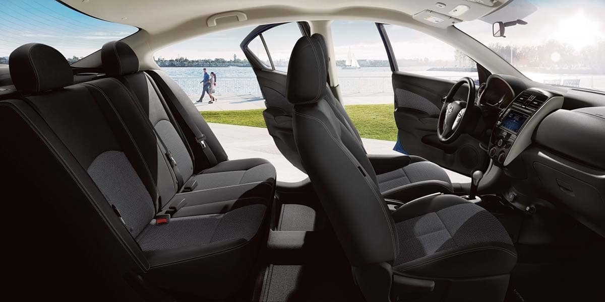2019 Nissan Versa Seating