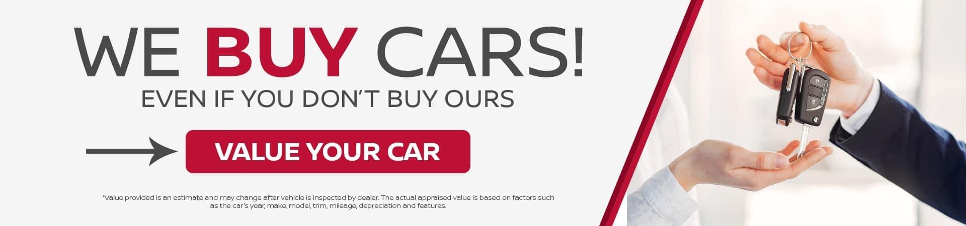 We Buy Cars May 21