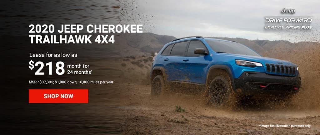 2020 Cherokee Trailhawk 4x4