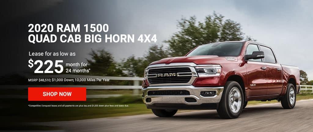 2020 Ram 1500 Quad Cab Big Horn 4x4