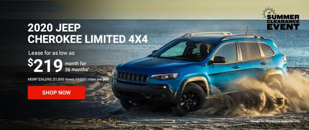 2020 Cherokee Limited 4x4