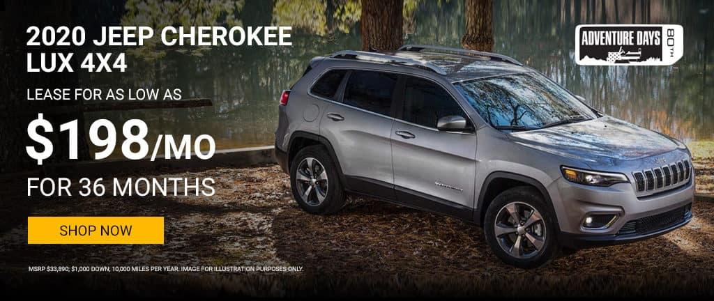 2020 Cherokee Lux 4x4