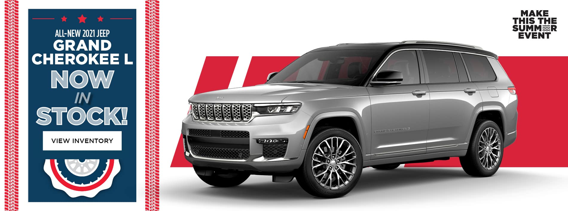Jeep Grand Cherokee L: Now In Stock