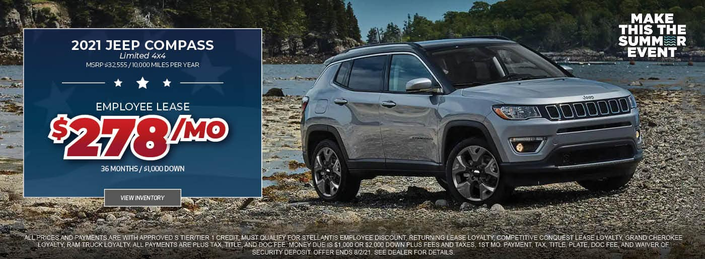 2021 Jeep Compass 4x4 Limited