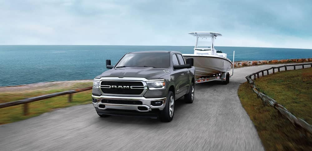 2020-Ram-1500-towing-a-boat