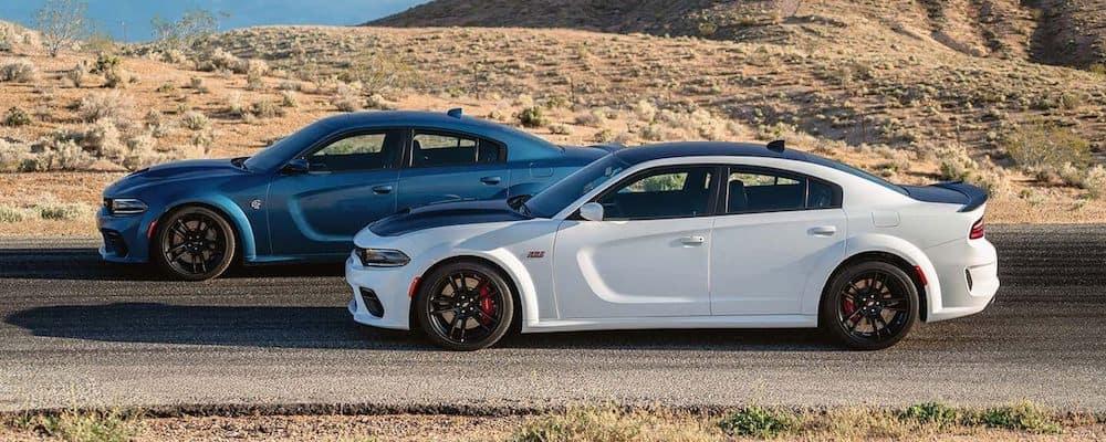 2020 Dodge Charger Models on Highway