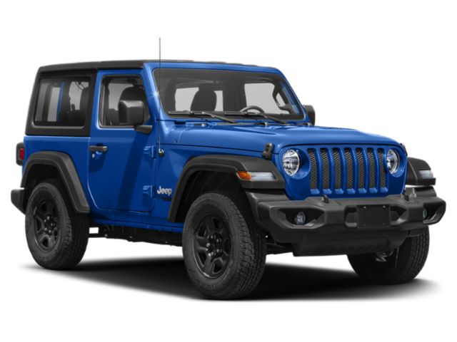 Blue 2020 Jeep Wrangler 2-Door