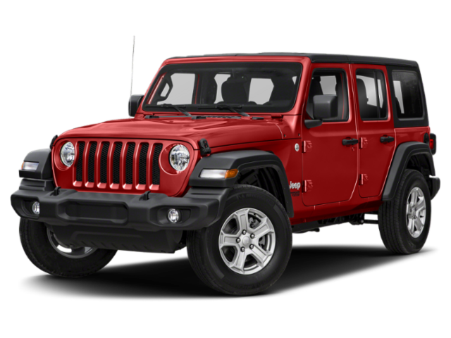 Red 2020 Jeep Wrangler 4-Door
