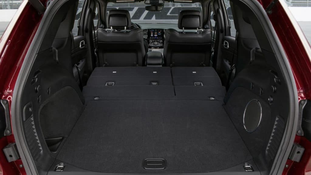 2020 Jeep Grand Cherokee cargo